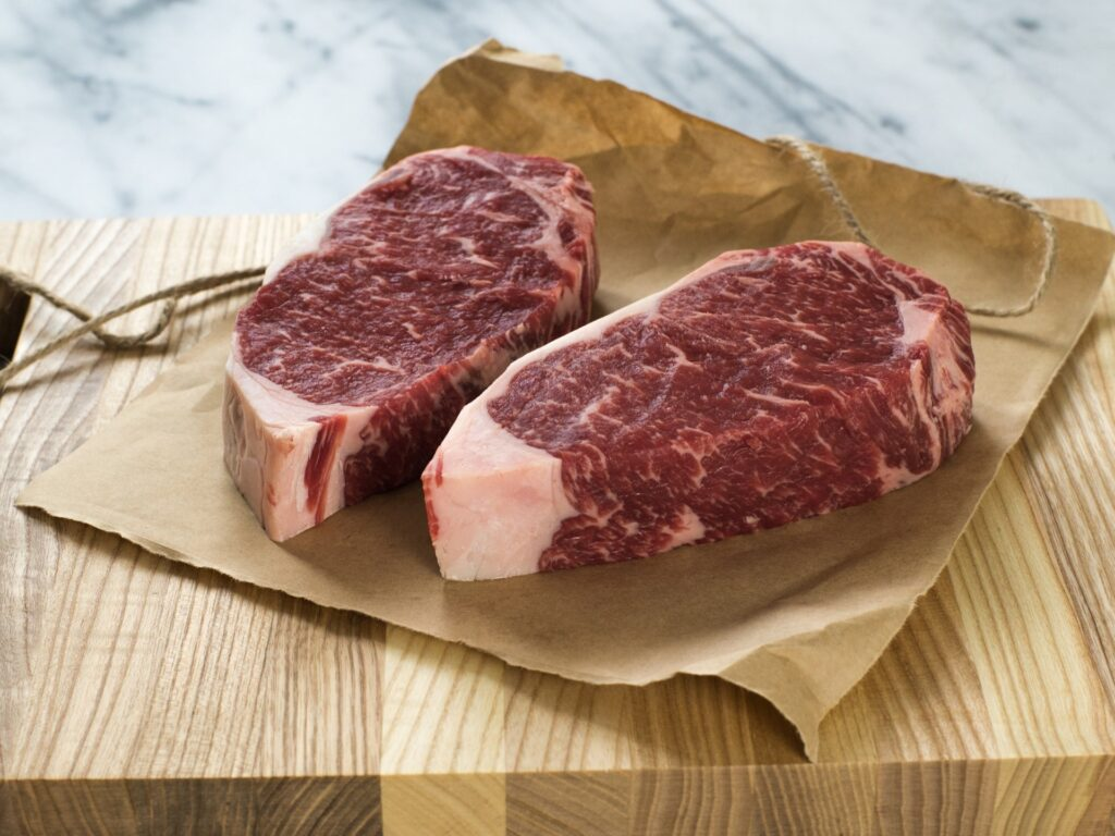Do you trim the exterior parts of dry aged meat ?