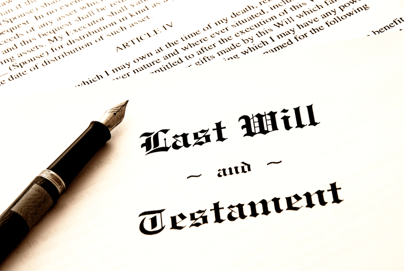How To Make Your Will - How To Split Your Money And Property
