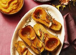 Creamy Roasted Squash Puree Recipe